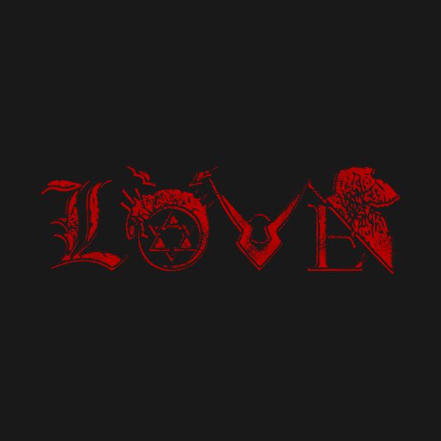 Anime Love (red)