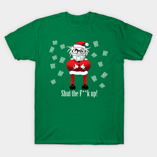 c92fe26a70 Rude Funny Santa Ugly Sweater - Funny Ugly Christmas Sweater - T ...