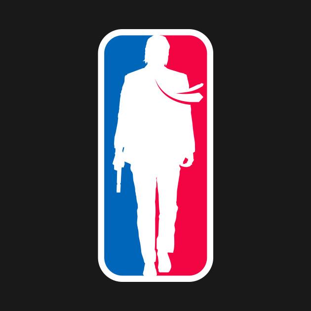 John Wick NBA Logo (Large design)
