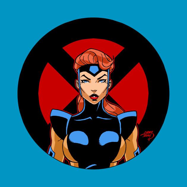 Jean Grey 'X Series' X-Men Shirt Wolverine Cyclops Deadpool Marvel Comics Apocalypse