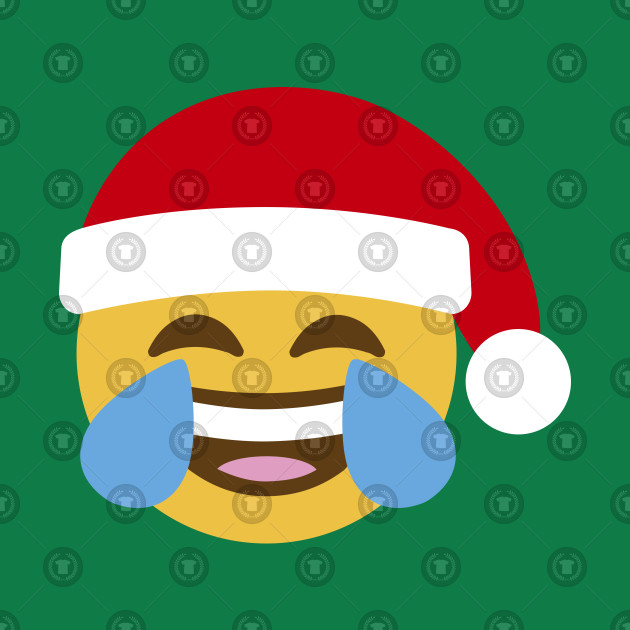 Smiley Santa Claus Laughing Out Loud  LOL Emoticon
