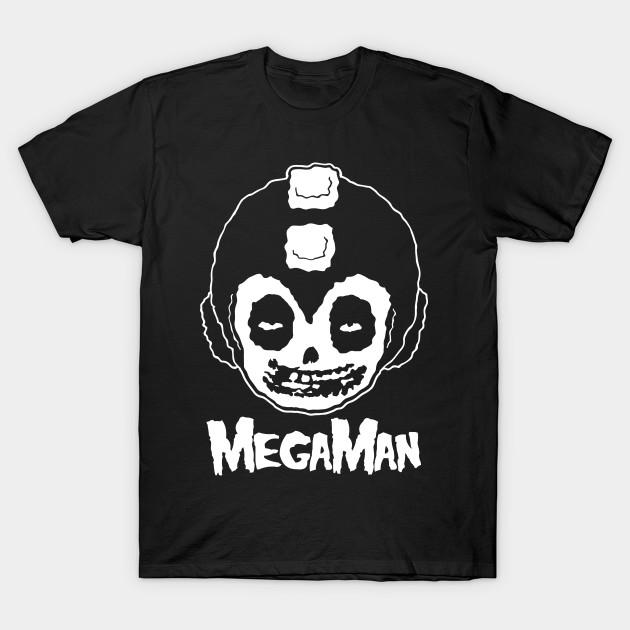 dba55da914bca MEGAMAN MISFITS - Rock - T-Shirt