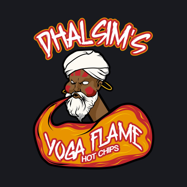 Dhalsim's Yoga Flame Hot Chips