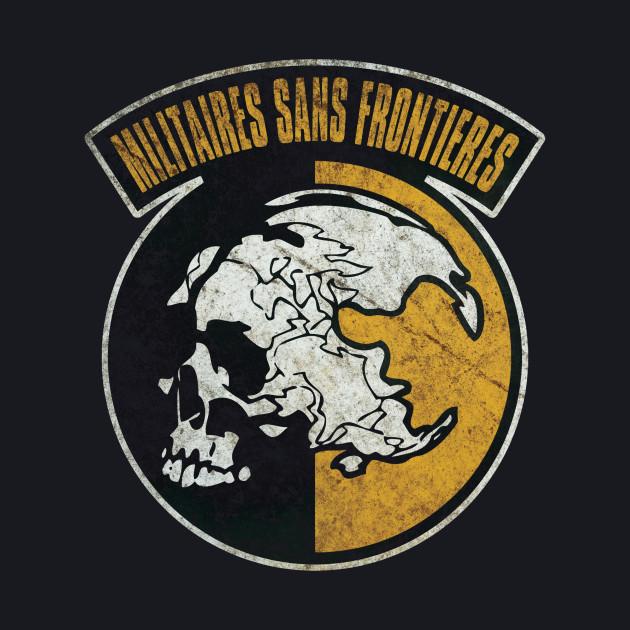 Militaires Sans Frontières (Distressed) - Metal Gear Solid