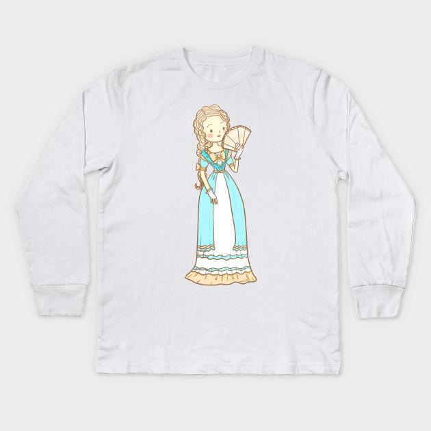 50e3a9a5 ... Kids Long Sleeve T-Shirt. New!Back Print. Anne Marie Blue ...