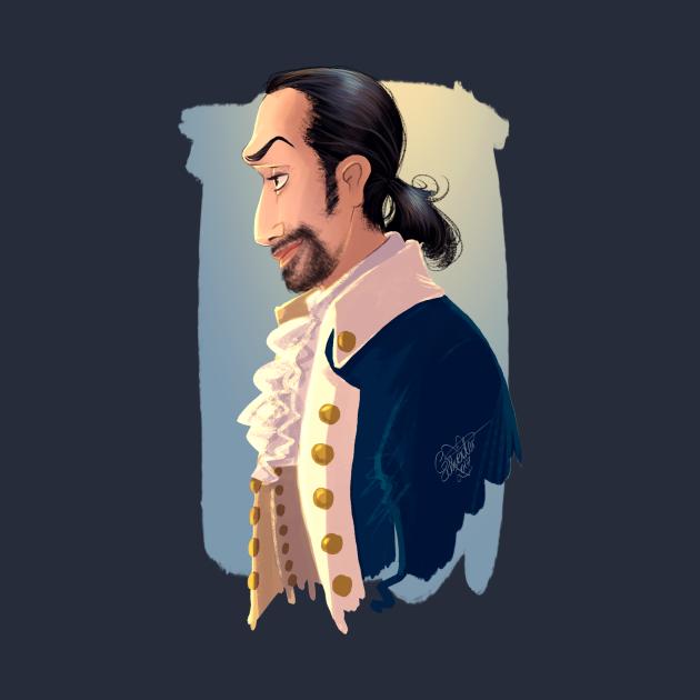 HAMILTON MUSICAL Alexander Hamilton (Lin Manuel Miranda)