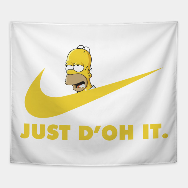 Homer Simpson Just do It