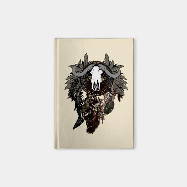 Dreamcatcher with Bull Skull