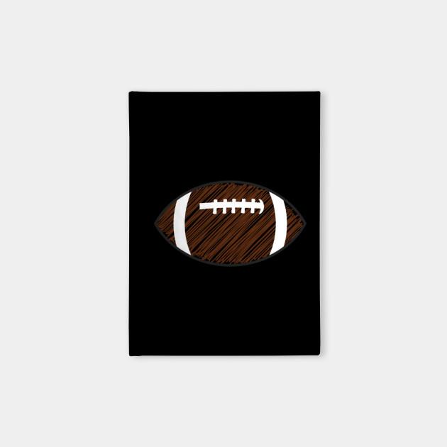 Scribble Football Sketch Football