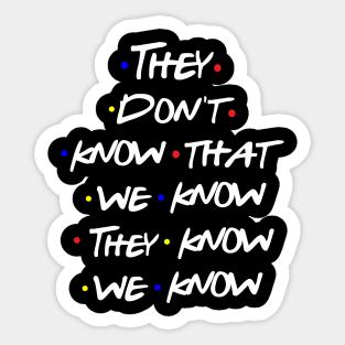 Phoebe Buffay Quotes Sticker Set