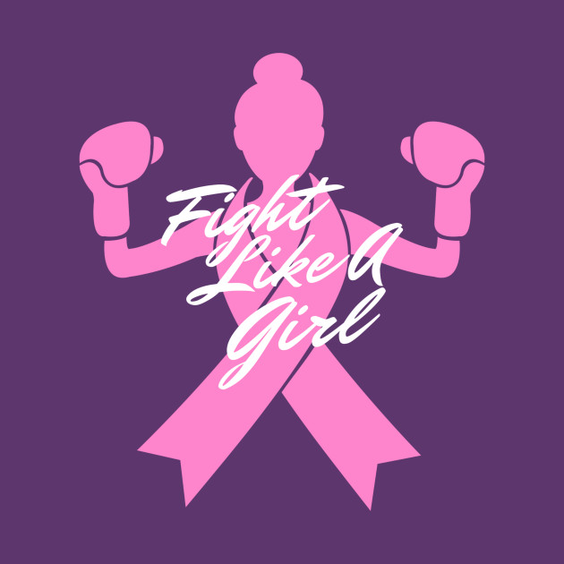 Fight Like A Girl - Breast Cancer - Long Sleeve T-Shirt  669359170