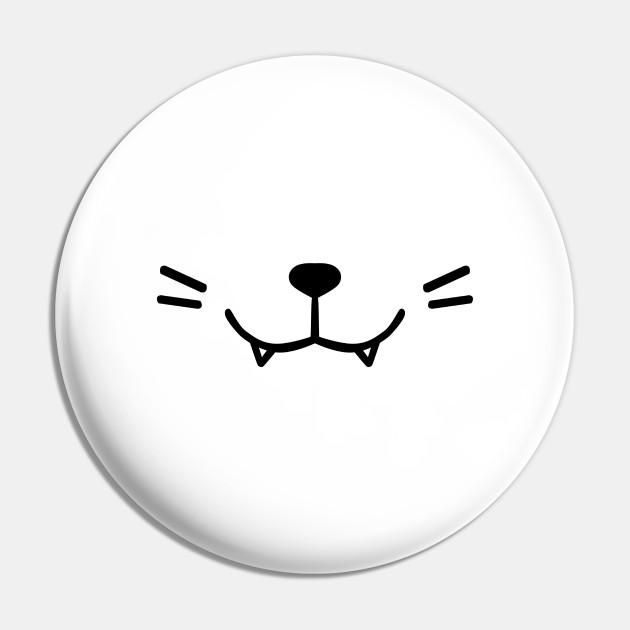 White Anime Kitty