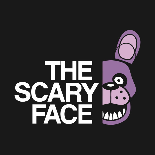 The Scary Face – B T-Shirt