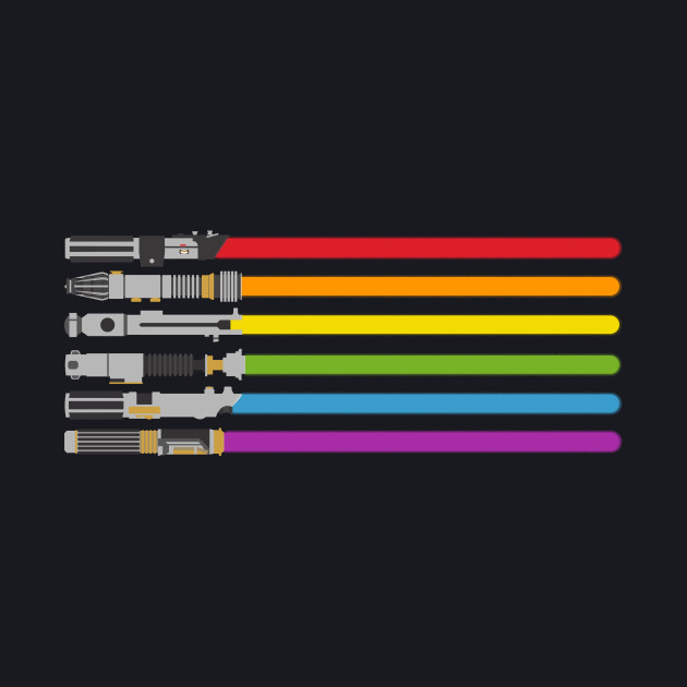 lightsaber rainbow