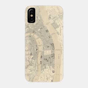 Lyon France Map Phone Cases Teepublic