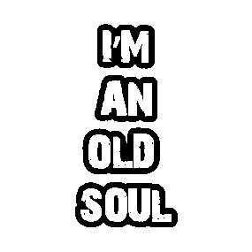 Old Soul Stickers | TeePublic