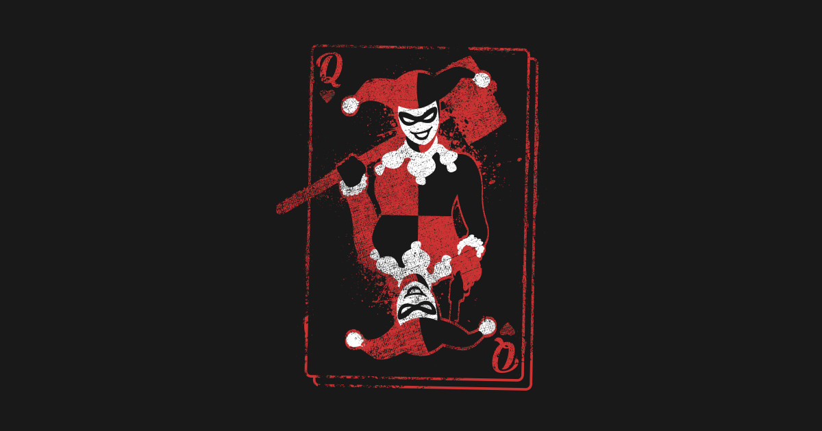 Harley Davidson Joker With Card T Shirt