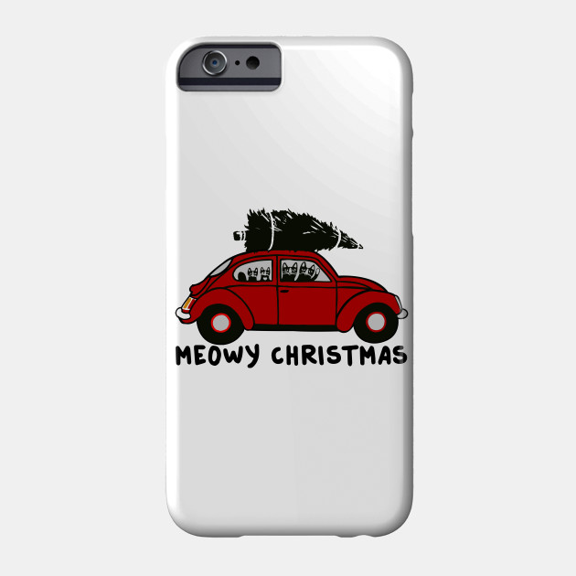 MEOWY CHRISTMAS - Christmas shirt Phone Case