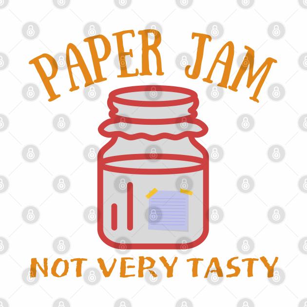 Paper Jam Funny Foodie Office Jokes