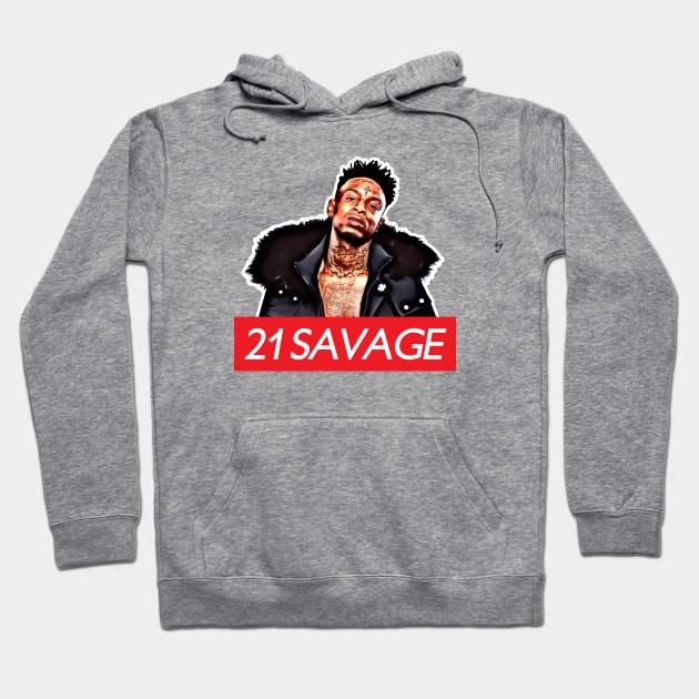 e5ab047fdabb 21 Savage - 21 Savage - Hoodie
