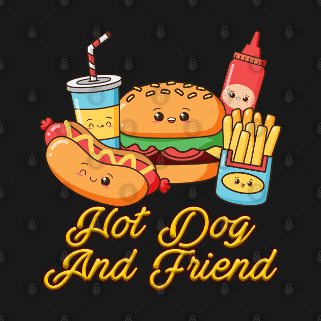 Hot Dog And Friend