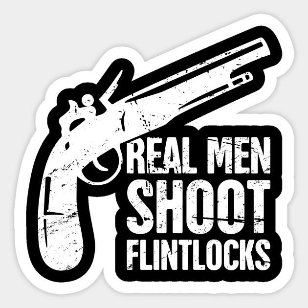 Gift For Flintlock Rifle History Gun Collector