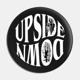 Stranger Things Ansteck-Buttons Upside Down