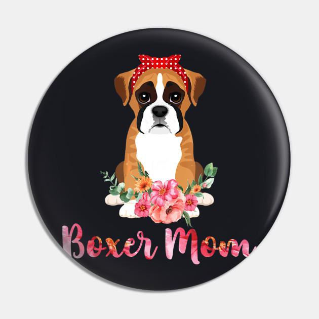 Boxer Mom Funny Boxer Dog Lover T Shirt