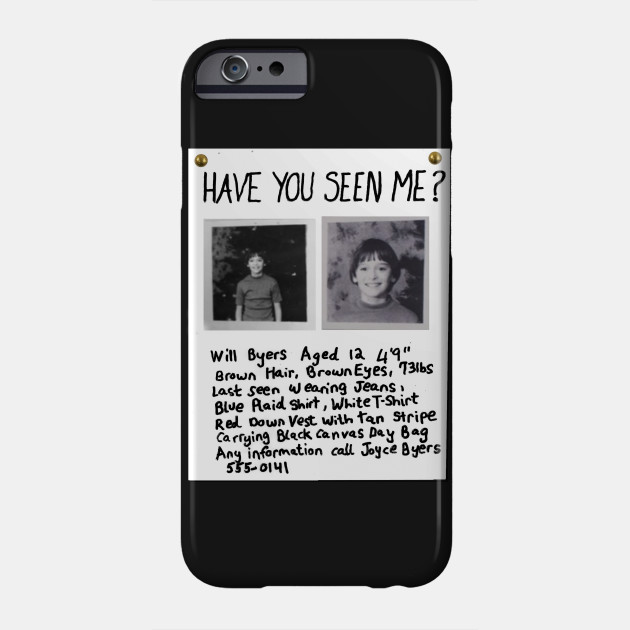 new concept 8ffba 0d823 HAVE YOU SEEN ME? - Will Byers Missing Poster
