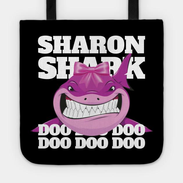 Sharon Cuscini.Sharon Baby Shark Funny Kids Sharon Borsa Teepublic It