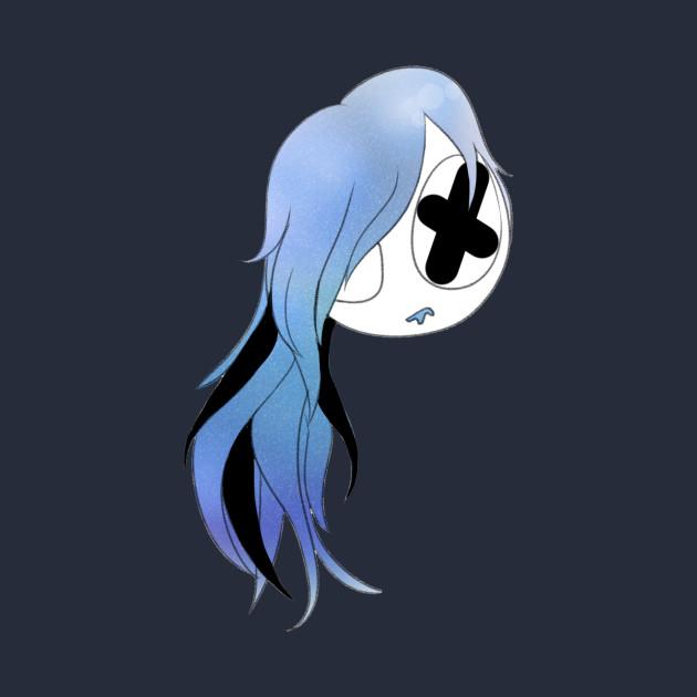 Blue Galaxy Girl