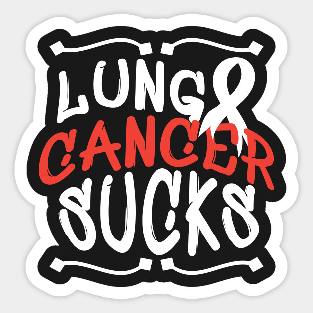 Lung Cancer Sucks - Lung Cancer Awareness by misopunny