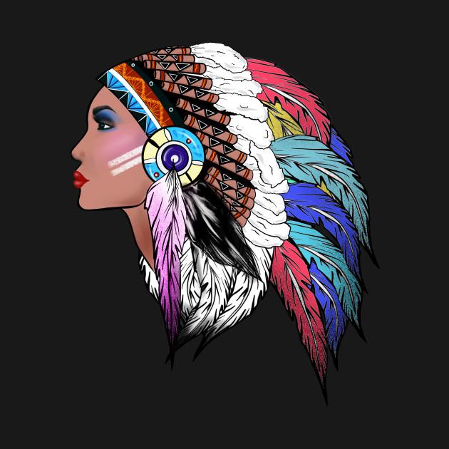 Native American,Indian American woman