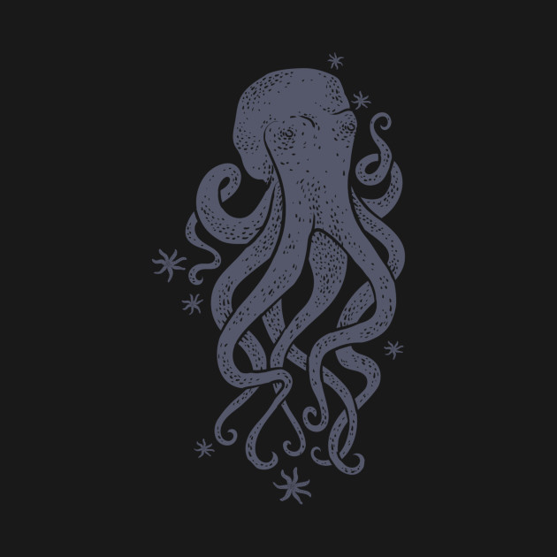 Octopus Squiggly King Of The Sea