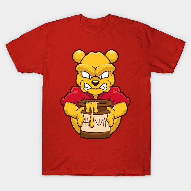 be82d3fa8c5d Angry Winnie the Pooh! - Winnie The Pooh - T-Shirt