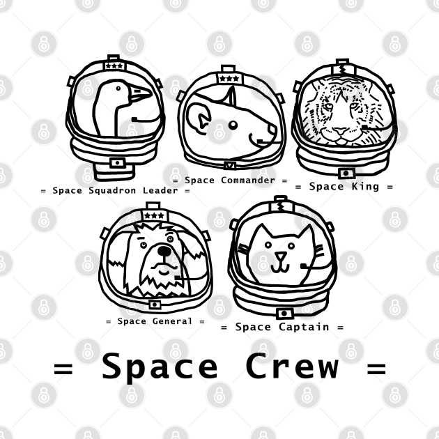 Space Crew 2420 with Tiger SciFi Outline
