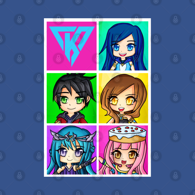 Funneh and the Krew Chibi Style