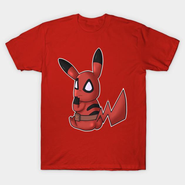050f21206 Pikachu Deadpool - Deadpool Pikachu - T-Shirt   TeePublic