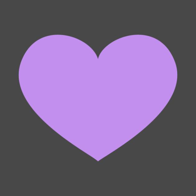 Purple Heart Emoji - Heart - T-Shirt   TeePublic