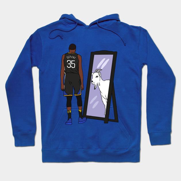 Brooklyn Nets Kevin Durant Goat Hooded Sweatshirt