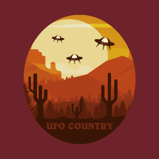 UFO Country t-shirts