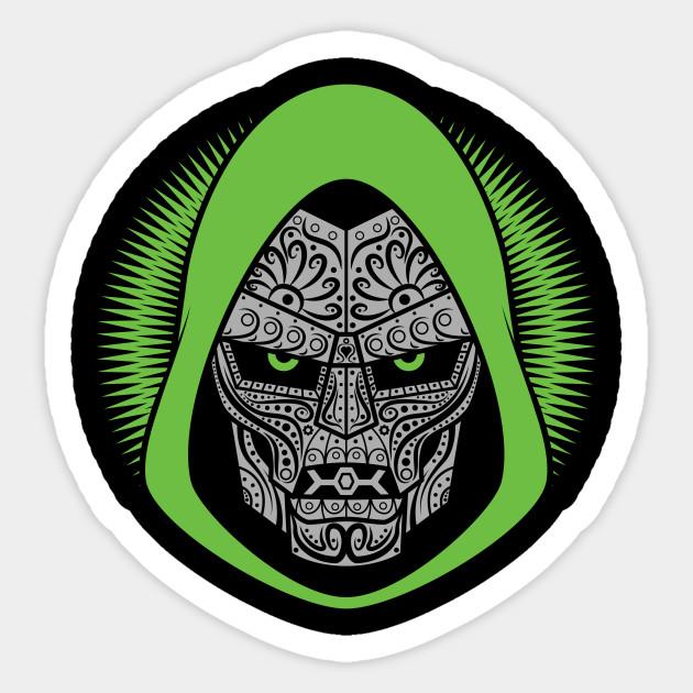 Doom Of The Dead Mexico Sticker Teepublic