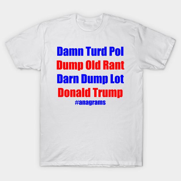 Donald Trump Anagrams