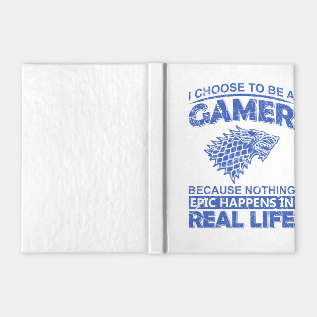 I Choose to Be a Gamer Funny Gaming