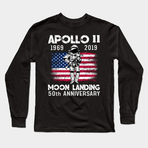 NASA Apollo 11 50th Anniversary Moon Landing T-Shirt Men Women