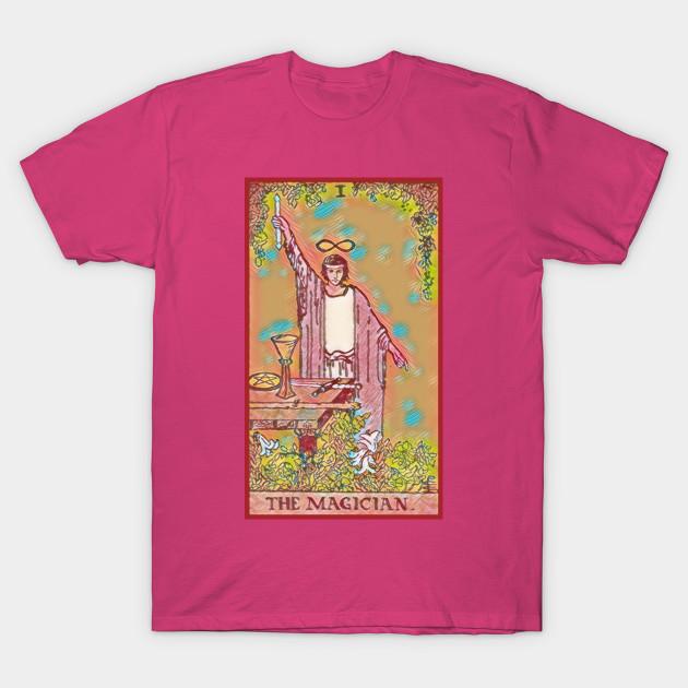 c51a7829d987f2 TAROT CARD The Magician Major Arcana - Tarot Cards - T-Shirt