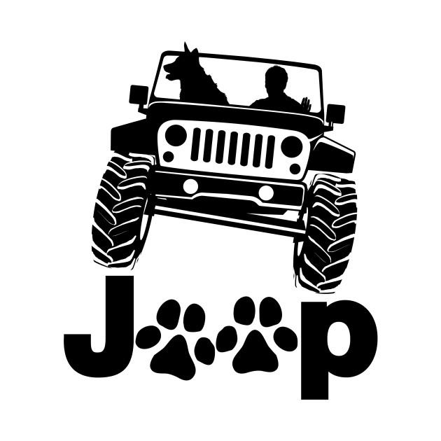 Jeep Dog Canine B K 9 Jeep T Shirt Teepublic