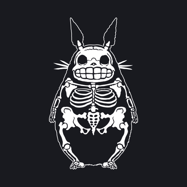 Totoro Bones - White