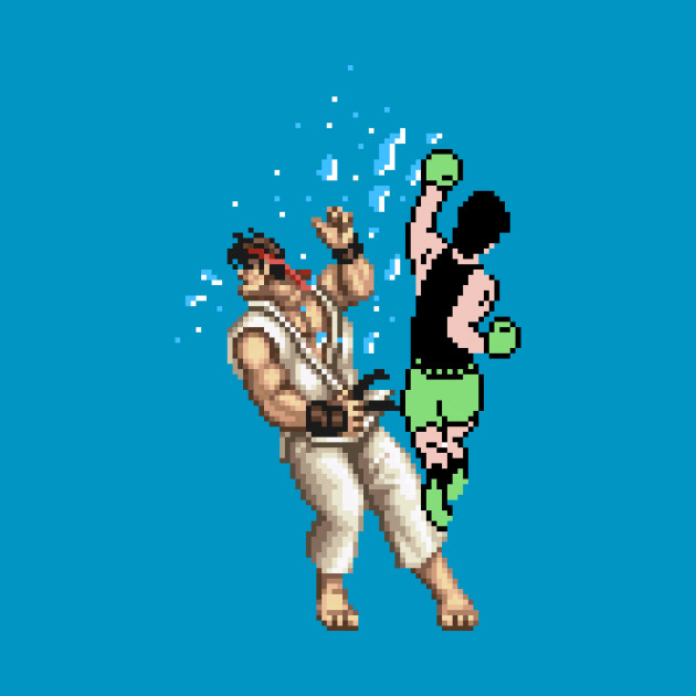PIXEL FIGHT! (Ryu)