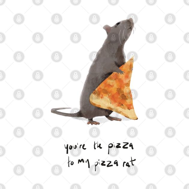 Pizza Rat Love